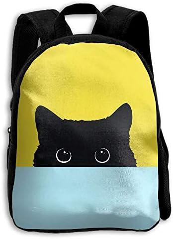 Hide Black Cat School Backpack Children Bookbag for Kids: Amazon.es: Equipaje