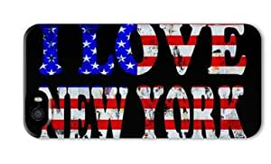 I Love New York 001 Iphone 5 5S Hard Protective 3D Case by Lilyshouse by ruishername