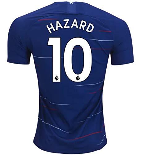 premium selection b3fa6 a02d3 Amazon.com : Eden Hazard Chelsea 18/19 Home Jersey Size L ...