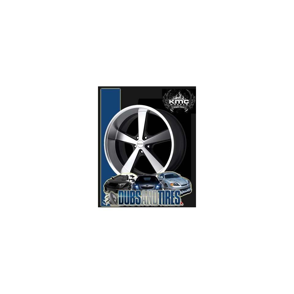 20 Inch 20x8.5 American Racing wheels wheels NOVA Gloss Black Machined Face wheels rims Automotive