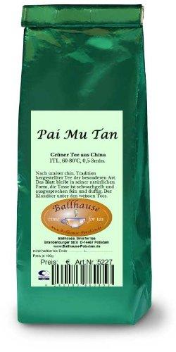 Pai Mu Tan, Weisser Tee;