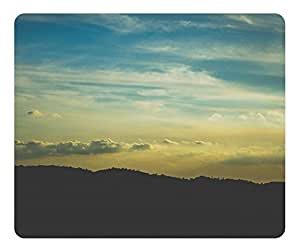 Mouse Pad Mountains And Clouds Desktop Laptop Mousepads Comfortable Office Mouse Pad Mat Cute Gaming Mouse Pad