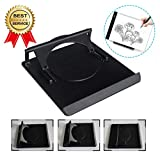 Light Box Pad Stander,ONESEN Multifunction Rotate in 360°9 Angle Points Skidding Prevented Tracing Holder for Laptop LED Light Table A4 A3 LB4 L4S nd Most Tracing Ligh Box Pad(1Stander)