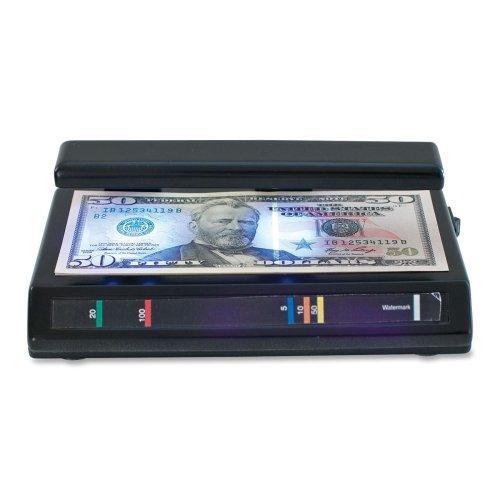 Wholesale CASE of 10 - Drimark TriTest UV Counterfeit Detector-Counterfeit Triple Test Detector, 3''x7''x3'', Black