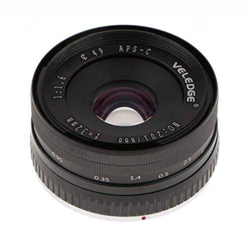 Homyl 32mm f/1.6 Large Aperture Manual Focus Lens APS-C for Sony E Mount Mirrorless Camera NEX 3 5 6 by Homyl (Image #2)