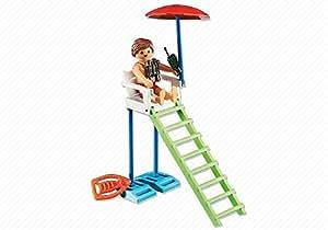 Playmobil 6449 vigilante de playa o piscina - Piscina playmobil amazon ...