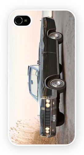 Lincoln Continental IV Dark Green, iPhone 6+ (PLUS) cas, Etui de téléphone mobile - encre brillant impression