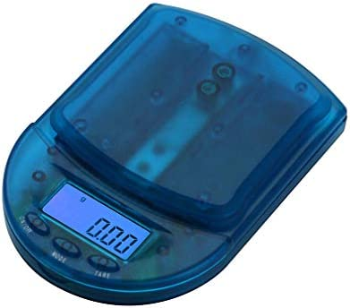 AMERICAN WEIGH SCALES BCM Series Precision Digital Pocket Weight Scale, Clear Blue, 650G x 0.1G BCM-650-CB