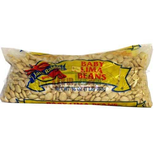 Jack Rabbit Baby Lima Beans - 20 lb. bag, 1 bag per case