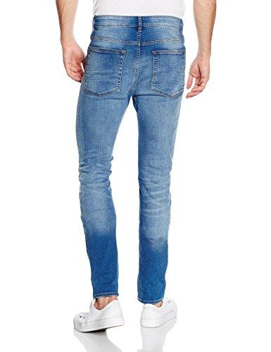 Blue Uomo Look bright New Blu Jeans Skinny Arnold FqAdWIWwx0