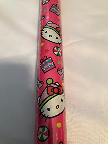 Hello Kitty Gift Wrapping Paper -45 sq ft Roll ()