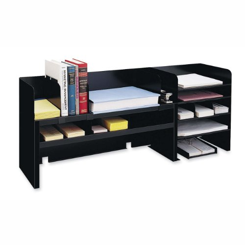 MMF2061DOBK - MMF Raised Shelf Design Desk Organizer by MMF