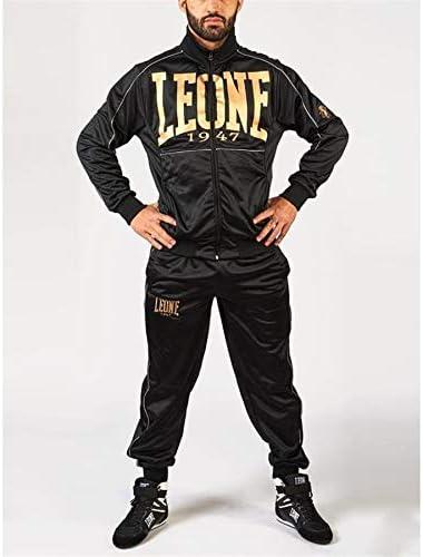 Leone AB796 - Chándal completo (chaqueta y pantalones) negro X ...