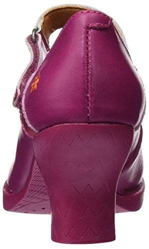 Mujer 0933 Con Para Art Cerrada Memphis magenta Harlem Rosa Tacón Zapatos Punta De vqdYq