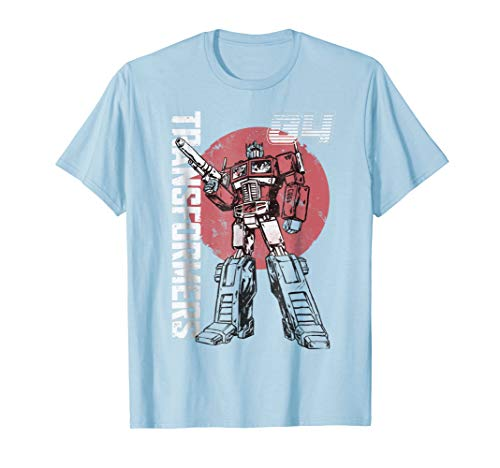 - Transformers Optimus Prime Retro Design T-Shirt