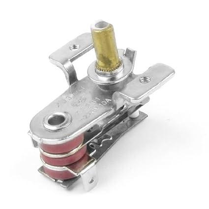 DealMux casa cocina Horno eléctrico reemplazo del termostato del mando de CA 220V 10A