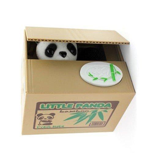 Itian Design cute panda volent largent bo/îte tirelire /économiser m/édaille bo/îte tirelire