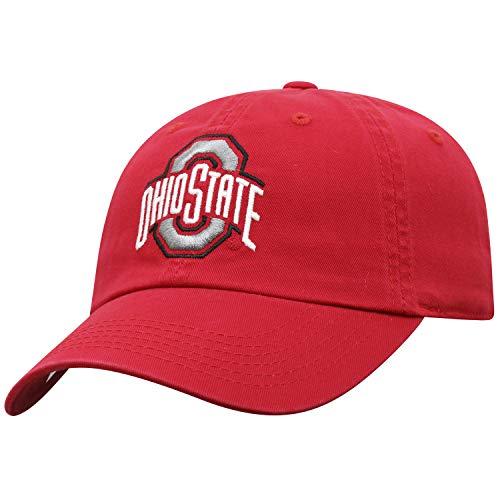 Top of the World Ohio State Buckeyes Women's Hat Icon, Red, - Ohio Womens Cap