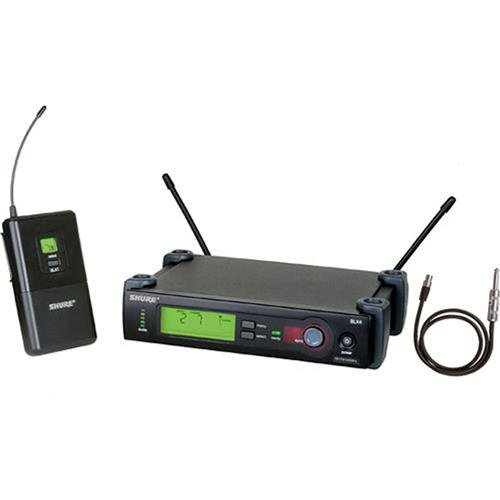 - Shure SLX14/Beta98H Instrument Wireless System, G4