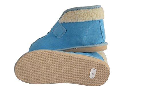 Natleat Slippers , Jungen Hausschuhe, blau - blau - Größe: 30 EU Kinder