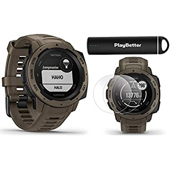 Amazon.com: Garmin Instinct Tactical Edition GPS Watch and ...