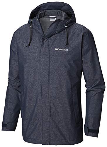 (Columbia Men's Norwalk Mountain Jacket, Collegiate Navy Heather, X-Large )