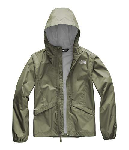 The North Face Kids Girl's Zipline Rain Jacket (Little Kids/Big Kids) Four Leaf Clover X-Small