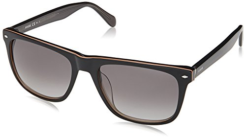 Fossil Men's Fos 2062/s Square Sunglasses, BLACK, 54 mm -  Fossil sunglasses