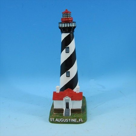 Handcrafted Model Ships Y-41642 St. Augustine Lighthouse Decoration 7 in. Decorative - St Augustine Shopping