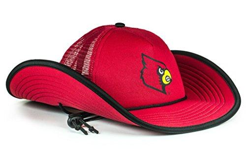 NCAA Louisville Cardinals The Bucker Hat, Red, One - Floats Team Ncaa Pool