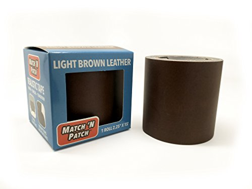 - Match N Patch Realistic Light Brown Leather Repair Tape