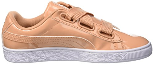 Coral Coral Puma Sneaker Basket Orange Patent Heart 16 Dusty dusty Damen wpw74xgU