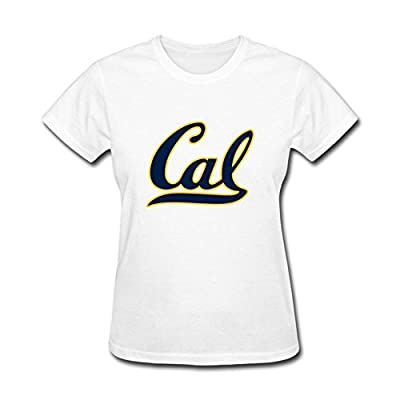 Attmye Women's University of California Berkeley Logo T shirts