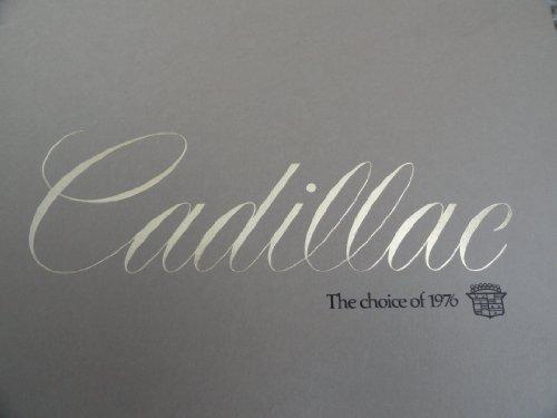 1976 Cadillac Fleetwood / Eldorado / Seville / Deville / Calais Sales Brochure