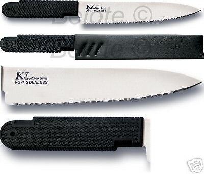 amazon com cold steel k7 serrated kitchen knives set of 3 rh amazon com cold steel kitchen knives uk cold steel kitchen knives vs victorinox