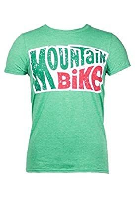 Noble Mountain Bike Logo Shirt by Cycling - Funny Bicycle T-Shirt For Men