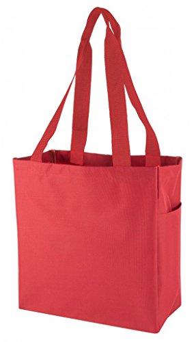 DDI 1923797 Poly Tote Bag44; Red by DDI