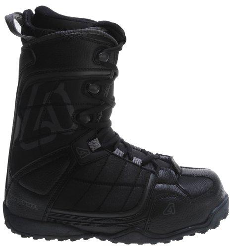 Avalanche Surge Snowboard Boots Black Mens Sz 8