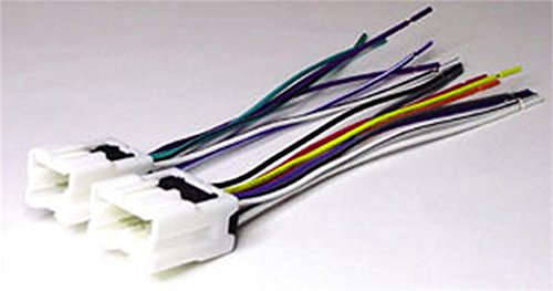2000 Factory Radio - Scosche NN03B Wire Harness to Connect an Aftermarket Stereo Receiver for Select 1995-Up Infiniti/Nissan