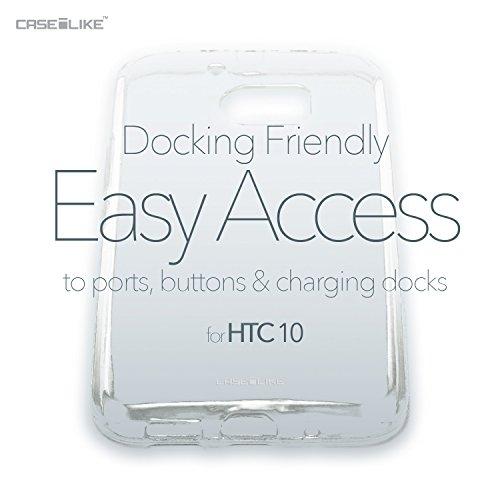 CASEiLIKE Funda HTC 826 , Carcasa HTC Desire 826, Arte de la mandala 2306, TPU Gel silicone protectora cover Acuarela floral 2231