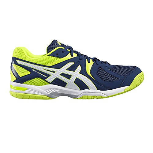 Jaune Chaussures Mehrfarbig de Fluo Mixte 3 Hunter Asics ral Adulte Blanc Multicolour R507y 5801 0000001 Cross Bleu Gel Min 6qaq8X