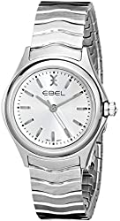 EBEL Women's 1216191 Wave Analog Display Swiss Quartz Silver Watch