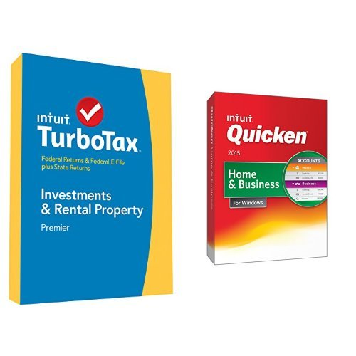 TurboTax Premier 2014 and Quicken Home and Business 2015 Bundle
