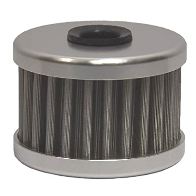 PC Racing PC112 Flo Stainless Steel Reusable Oil Filter: Automotive