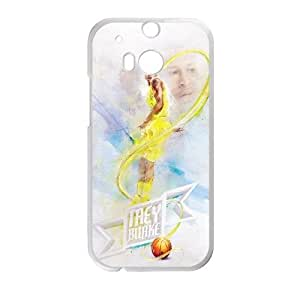 HTC One M8 Cell Phone Case White Trey Burke Heppq
