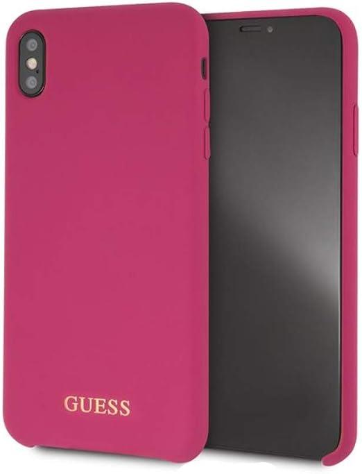 Guess GUHCI65LSGLPI - Carcasa rígida para iPhone XS MAX, Color Rosa: Amazon.es: Electrónica
