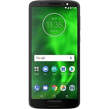 "Motorola Moto G6 Factory Unlocked Phone - 5.7"" Screen - 32GB - Black (U.S. Warranty)"