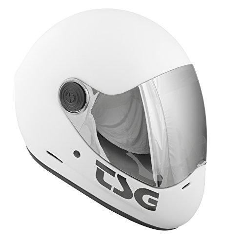 TSG Pass Helmet, White, Medium