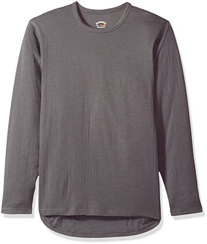 Duofold Men's Heavyweight Double-Layer Thermal Shirt, Thundering Gray, 2X Large