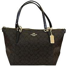 Coach AVA Leather Shopper Tote Bag Handbag
